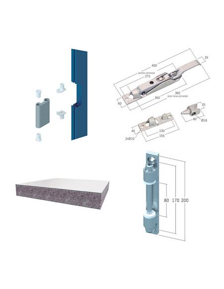 Componentes para puertas
