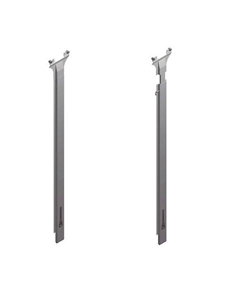 Pilar Fijo y Telescópico de aluminio