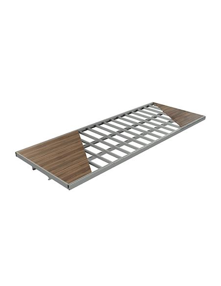 Camas y suelos de acero