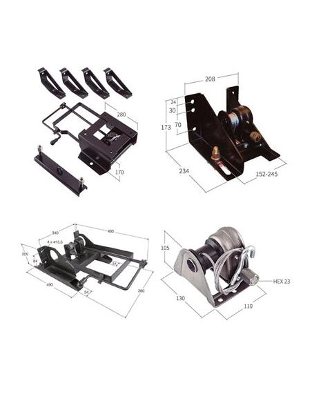 Elevadores de rueda